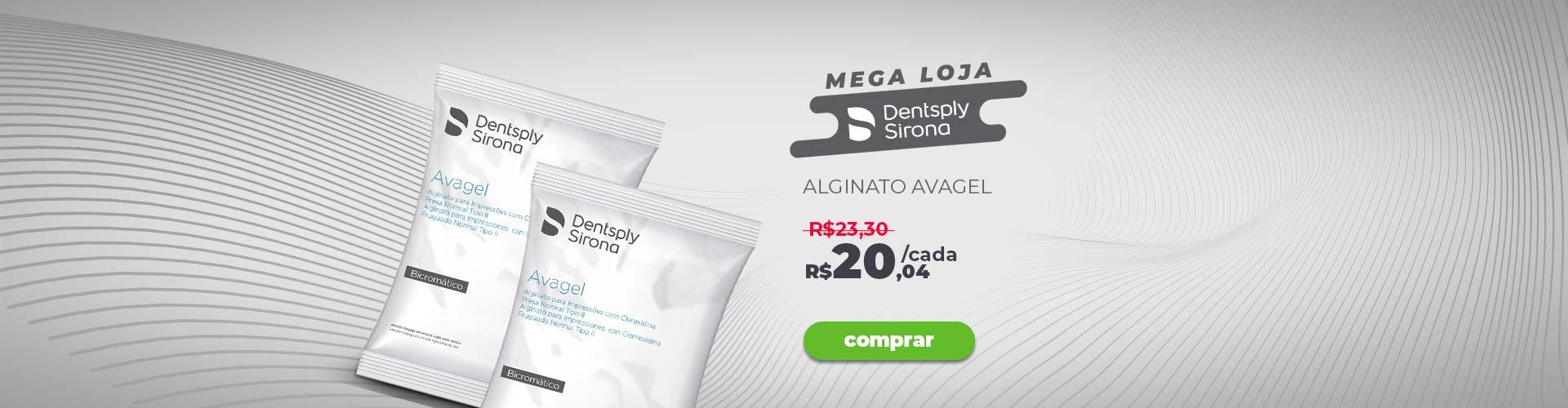 Banner Dentsply Mega loja - Avagel