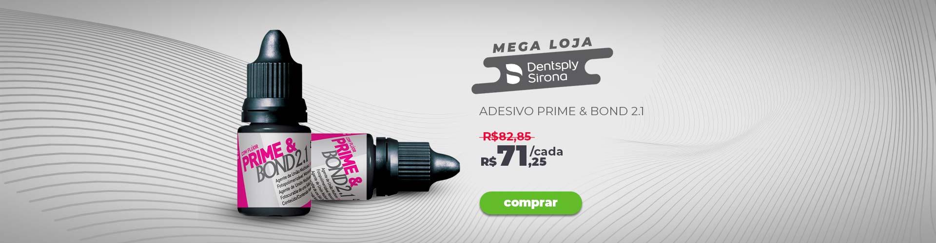 Banner Dentsply Mega Loja Prime Bond