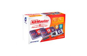 Bráquete Metálico AdvancedSeries com Gancho 022 Kit Master - ORTHOMETRIC